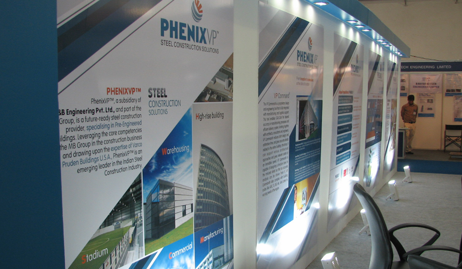 Exhibition Stall Manufacturer In Gujarat : Creative exhibition stall development agency creative stall
