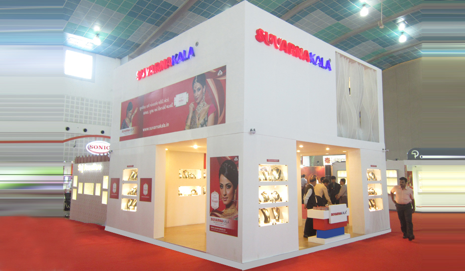 Exhibition Stall Fabrication : Exhibition stall fabrication services